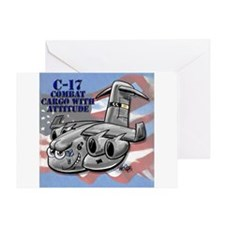 C-17 Globemaster III Greeting Card