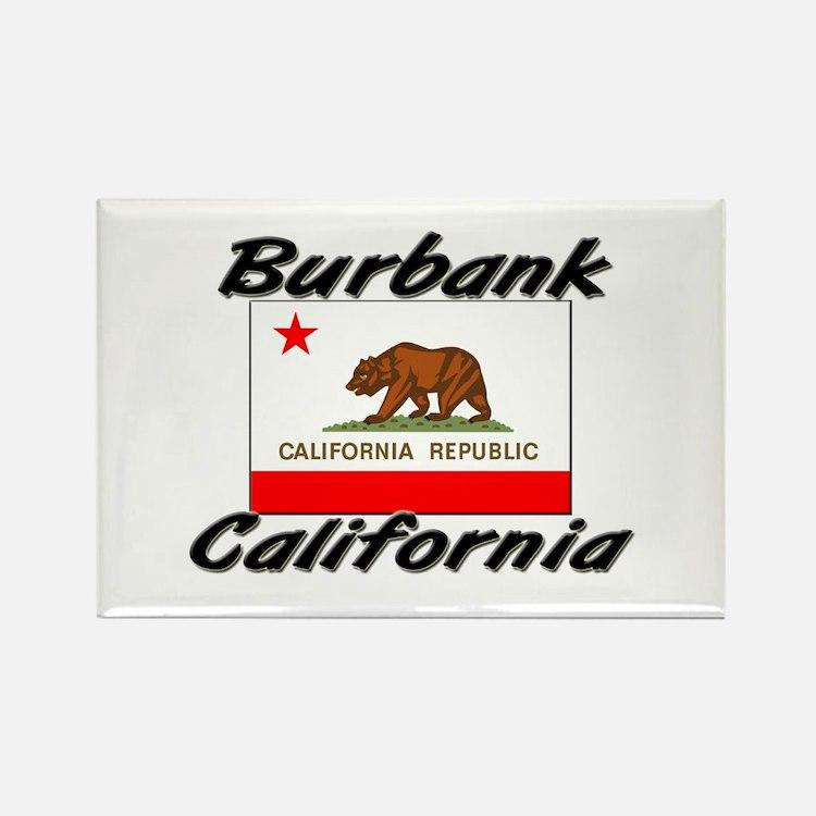 Burbank California Rectangle Magnet