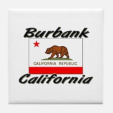 Burbank California Tile Coaster