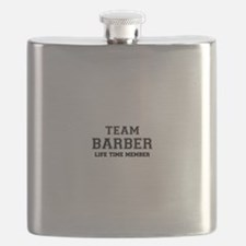 Team BARBER, life time member Flask