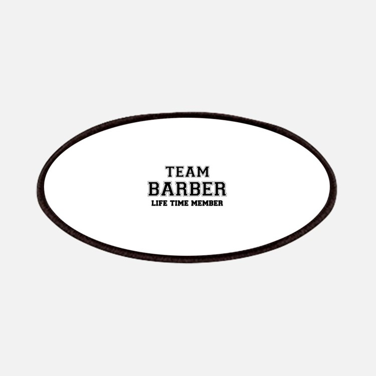 Team BARBER, life time member Patch