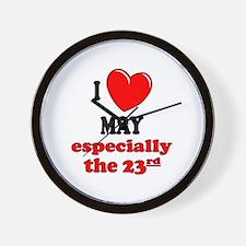 May 23rd Wall Clock