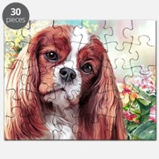 Cavalier King Charles Spaniel Painting Puzzle