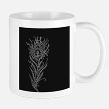 Elegant Feather Mug