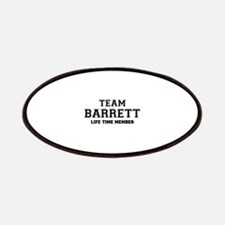 Team BARRETT, life time member Patch