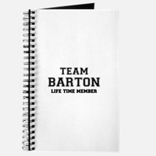 Team BARTON, life time member Journal