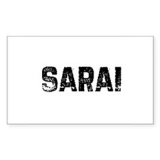 Sarai Rectangle Decal