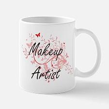 Makeup Artist Artistic Job Design with Butter Mugs