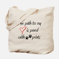 Path to my heart Tote Bag