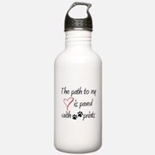 Path to my heart Water Bottle