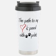 Path to my heart Travel Mug