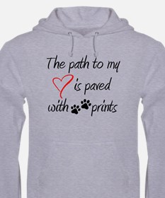 Path To My Heart Mens Hoodie Hoodie