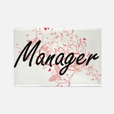 Manager Artistic Job Design with Butterfli Magnets