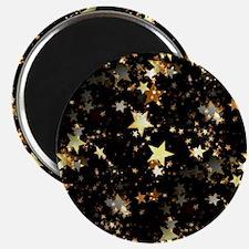 Funny Metallic gold Magnet