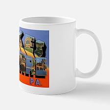 Wilkes-Barre Pennsylvania Greetings Mug