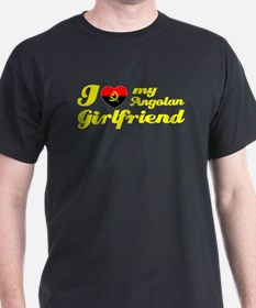 I love my Angolan girlfriend T-Shirt