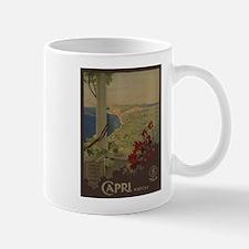 Vintage poster - Capri Mugs
