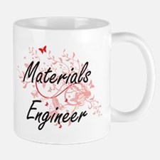 Materials Engineer Artistic Job Design with B Mugs