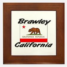 Brawley California Framed Tile