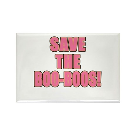 Save the BOO BOOs! Rectangle Magnet (10 pack)