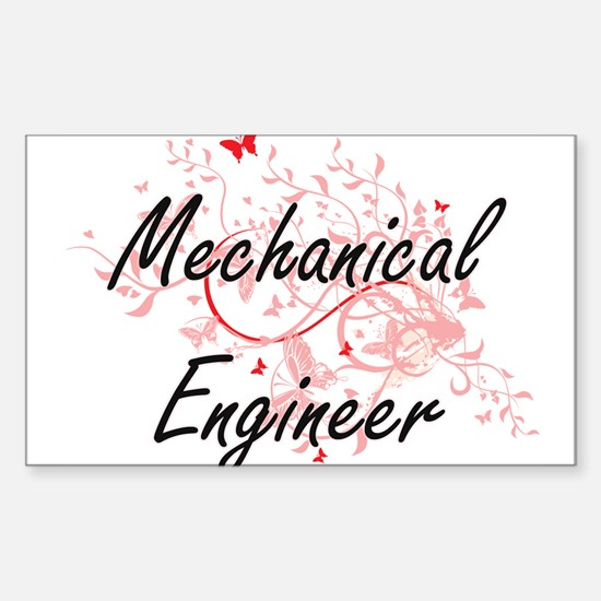 Mechanical Engineer Artistic Job Design wi Decal