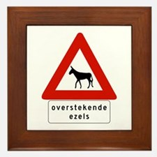 Donkey Crossing w/text, Netherlands Antilles Fram