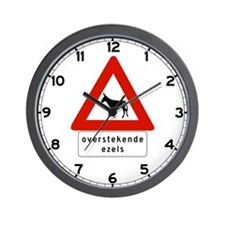 Donkey Crossing w/text, Netherlands Antilles Wall