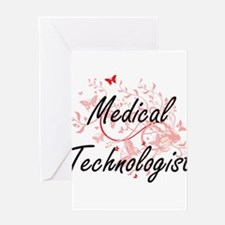 Medical Technologist Artistic Job D Greeting Cards
