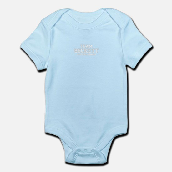 Team BECKETT, life time member Body Suit