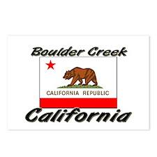 Boulder Creek California Postcards (Package of 8)