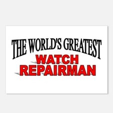 """The World's Greatest Watch Repairman"" Postcards ("