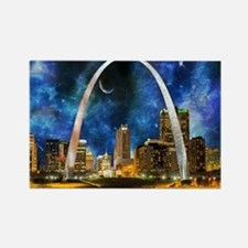Spacey St. Louis Skyline Magnets