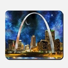 Spacey St. Louis Skyline Mousepad