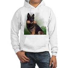 German Shepherd Mic Hoodie