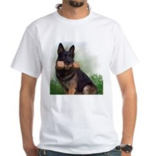 German Shepherd Mic Shirt