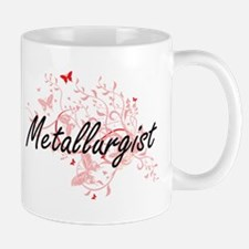 Metallurgist Artistic Job Design with Butterf Mugs