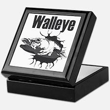 Funny Muskellunge Keepsake Box