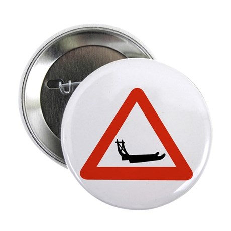 """Dog Sleds Crossing, Greenland 2.25"""" Button (10 pac"""