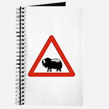 Caution Musk Oxen, Greenland Journal