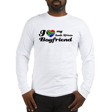 I love South African Boyfriend Long Sleeve T-Shirt