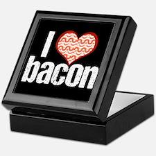 I Heart Bacon Keepsake Box