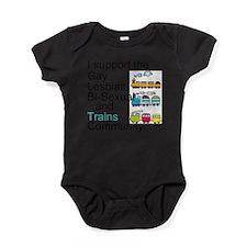 Cute Transgender Baby Bodysuit