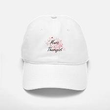 Music Therapist Artistic Job Design with Butte Baseball Baseball Cap