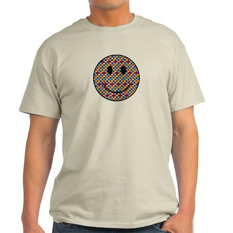 Autism Smiley Light T-Shirt