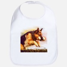 German Shepherd Jumping Bib