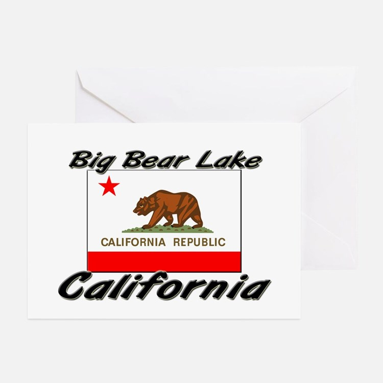 Big Bear Lake California Greeting Cards (Pk of 10)
