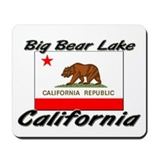 Big Bear Lake California Mousepad