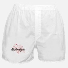 Nephrologist Artistic Job Design with Boxer Shorts