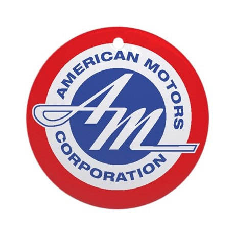 Small AMC Classic Ornament (Round)