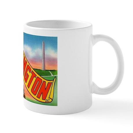 Washington D.C. Greetings Mug